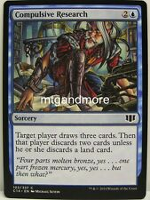 Magic Commander 2014 - 4x  Compulsive Research