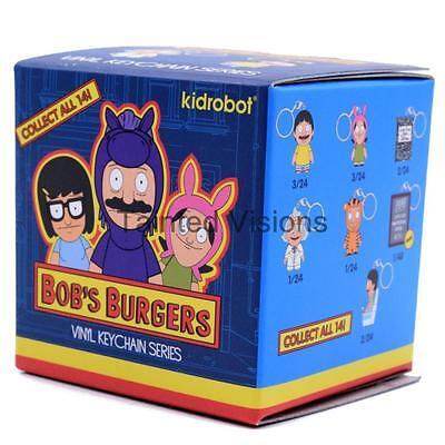 Kidrobot Bob/'s Burger Keychain Series Figure Blind Box 3 Packs