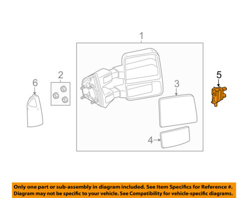 FORD OEM-Outside Air Ambient Temperature Sensor AU5Z12A647B DY1160
