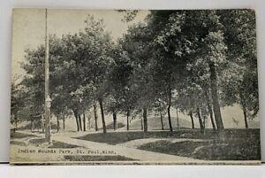 St-Paul-Minnesota-INDIAN-MOUNDS-PARK-1910-Jordan-to-Shakopee-Postcard-G13