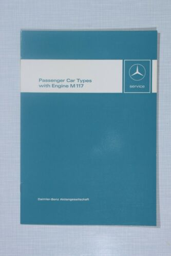 Automobilia Introduction into Service Manual Mercedes-Benz Engine ...