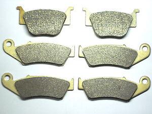 Front-Rear-Brake-Pads-For-Honda-TRX-450-R-450R-TRX450R-Brakes-Free-Shipping-SET