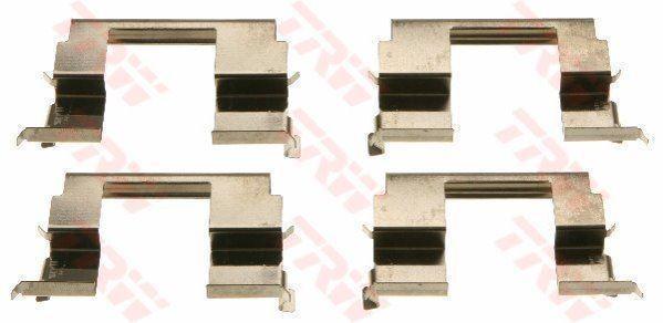 TRW PFK620 Accessoire Kit Plaquettes Disque de Frein Avant