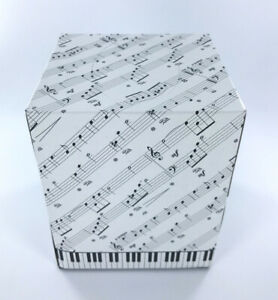 Sealed Facial Tissues Musical Notes and Piano Keys Box, 85 Ct 2-Ply Music Studio