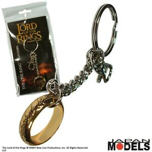 Lord-Of-The-Ring-THE-RING-Noble-Collection-Metallo-Keyring-Keychain-Portachiavi