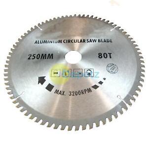 250-mm-x-30-mm-TCT-lame-de-scie-80-T-Dents-Pour-Aluminium-Coupe-Lame-de-scie-circulaire
