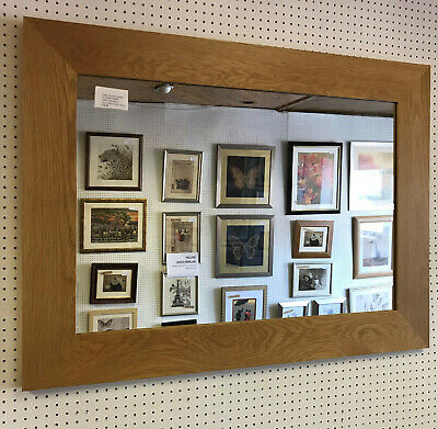 TRADE PRICED MODERN 95mm FLAT SOLID OAK PHOTOGRAPH//PICTURE FRAME