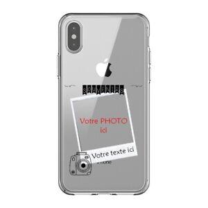 Coque Iphone XS MAX polaroid personnalisee