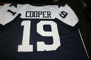 reputable site d6e31 de145 Details about AMARI COOPER #19 SEWN STITCHED HOME THANKSGIVING DAY JERSEY  SIZE XXL COOP WR