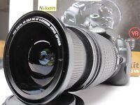 Uv C-pl Fisheye Macro Lens For Nikon D3400/5500/5100 D3200 D40x D7000 4pcs Kit