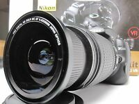 Uv C-pl Fisheye Macro Lens For Nikon D3400/5500/5100 D3200 D40x D7000 4pcs Kit