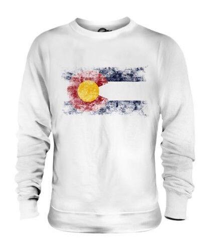 Farbeado État Drapeau Délavé Unisexe Pull Farbeadan T-Shirt Jersey Cadeau