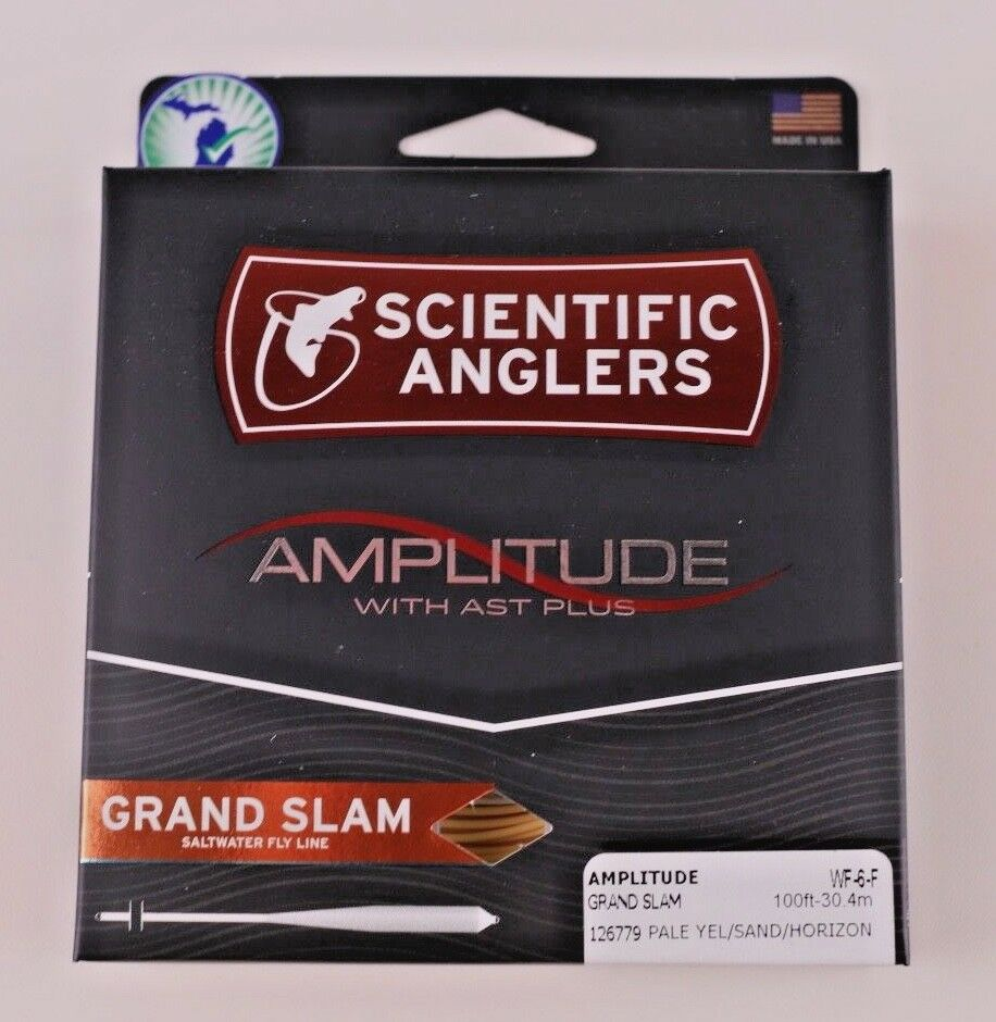 Scientific Anglers Amplitude Grand Slam Fly Line WF6F Libre Fast Shipping 126779
