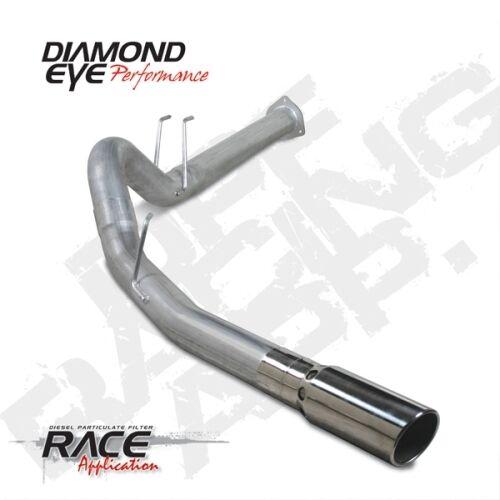 "Alum Back Exhaust For 11-14 Ford Single Diamond Eye K4376A 4/"" D.P.F"