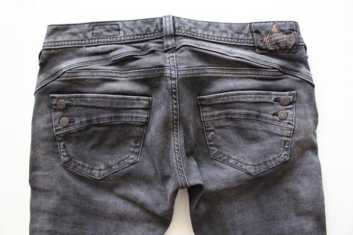 Dunkelgrau W27,29,30,31,32 L30 Herrlicher  Piper 5650 Slim Damen Jeans