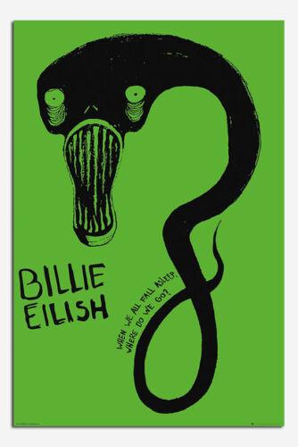 Billie Eilish Pop Artist Official Poster New