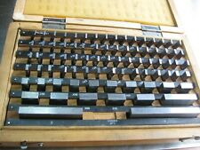 Precision Gage Gauge Block Set Complete 991231 Gradeb