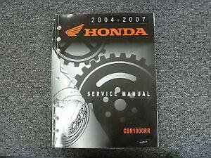 2006 2007 honda cbr1000rr 1000rr service shop repair factory.
