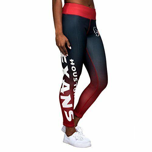 Forever Collectibles NFL Women's Houston Texans Gradient 2.0 Wordmark Legging