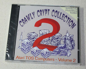 Crawly Crypt Collection - Vol 2 (CD, Atari ST/TT/Falcon)