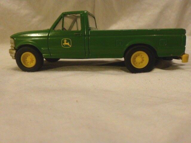 ERTL John Deere Co CAMIONNETTE FORD 1970 DIE CAST Vert Standard CAB Extended