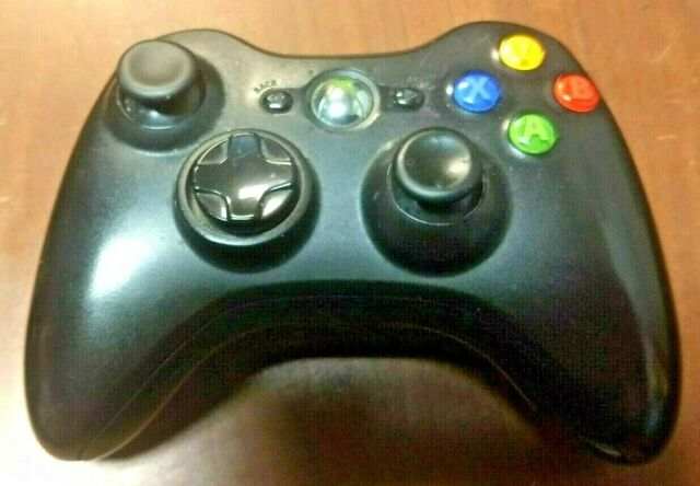 Microsoft Wireless Controller for Xbox 360 - Carbon Black