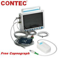 Capnograph Etco2 Vital Signs Icu Patient Monitor 7 Parameter Cardiac Ecg Fda Ce