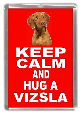 "Hungarian Vizsla Dog Fridge Magnet /""Greatest Landscape Gardener/"" by Starprint"
