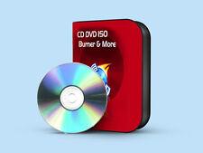 CD DVD & ISO BURNING SOFTWARE COPY PROGRAM WINDOWS VISTA, 7, XP CD