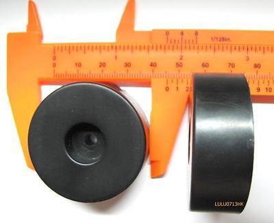 4x Big Isolation Rubber Feet Pad Base 45*15mm Cabinet Amplifier Speaker CD