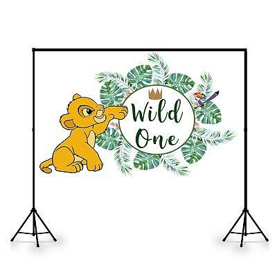 Lion King Photography Customized Backdrop Kids Birthday Party Decoration Vinyl