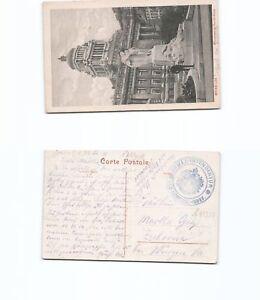 b95350-Ansichtskarte-Bruessel-mit-Adlerstempel-Armee-Intendantur-des-Ge