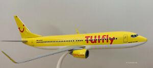 Tuifly-Boeing-737-800-1-100-Retro-Yellow-Gelb-D-ATUG-NEU-OVP-NEW