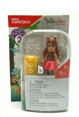 American Girl AG Wellie Wishers Mega Construx Series 2 Willa FMN22 10 PC Set NEW