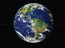 EARTH THE BLUE MARBLE ART PRINT POSTER 397PYA