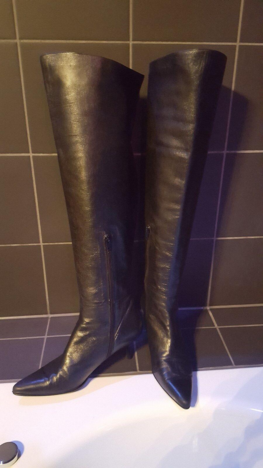 Overknee Stiefel Gr. Stuart Weitzman Echt Leder Gr. Stiefel 38.5 2e2413