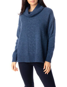 Jump Long Sleeve Roll Neck Cable Pullover