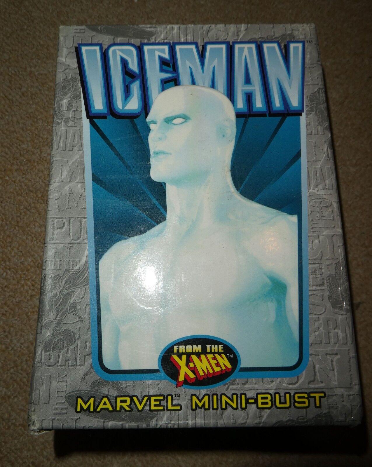 Marvel Comics Iceuomo X MEN autobusto in scatola Bowen Wolverine Ciclope 2225000