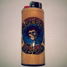 Grateful Dead Bic Lighter Case Holder Sleeve Cover