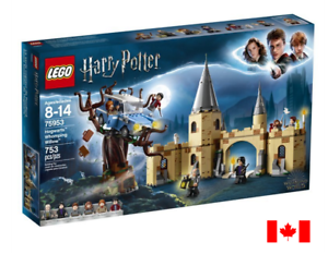 LEGO - HARRY POTTER  HOGWARTS WHOMPING WILLOW (753 pieces)