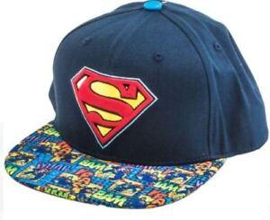 52ea1ebfd3cb6 Superman Baseball Hat - NWT - DC Comics Mens Snapback Flat Brim 3D ...