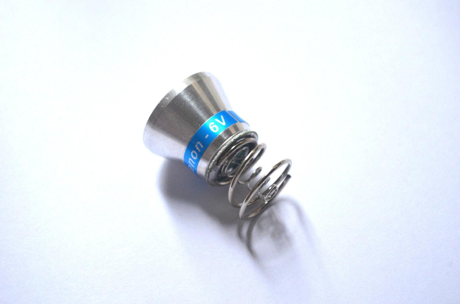 50pcs 6V High Pressure Xenon Xenon Xenon Replacement Lamp Bulb for Ultrafire flashlight c432fd