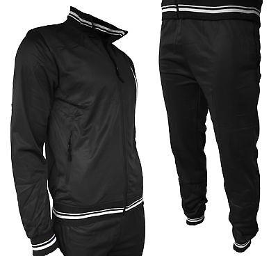Tuta Sportiva Uomo Maglia e Pantaloni Basic Acetata Vari Colori Nuova 3176 EX TF | eBay