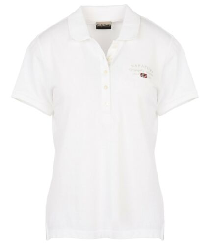 Polo Corta Elma Napapijri Sconto Manica Donna N0yhgd 10 Pique' Shirt EwTqO