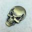 1pc-3D-Metal-Skeleton-Skull-Car-Motorcycle-Side-Trunk-Emblem-Badge-Decal-Sticker miniature 4