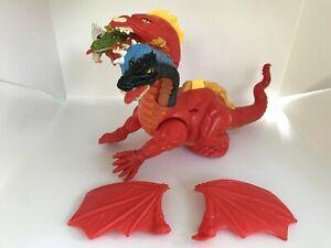 Rare-Vintage-Tiamat-Toy-Advanced-Dungeons-amp-Dragons-LJN-TSR-5-Headed-Dragon-AD-amp-D