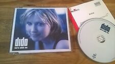 CD Pop Dido - Here With Me (1 Song) Promo ARISTA sc + Presskit