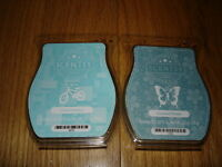 Lot Of 2 Packs Of Scentsy Bars Crazy Coconut & Coconut Flower
