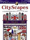 Creative Haven CityScapes: A Coloring Book with a Hidden Picture Twist by Alexandra Cowell (Paperback, 2015)