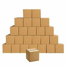 Edenseelake Shipping Boxes Small 4 X 4 X 4 Inches Cardboard Boxes 25 Pack